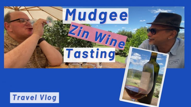 Zin Wine tasting done right - Mudgee Roadtrip 2021 - Not you usual wine tasting.