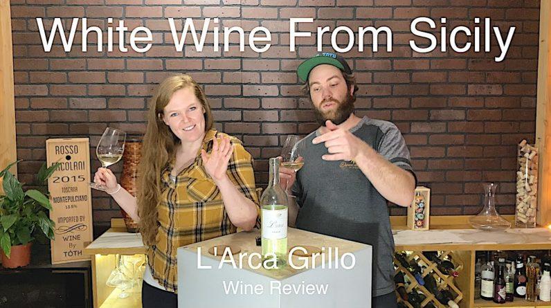 Tasting White Wine from Sicily